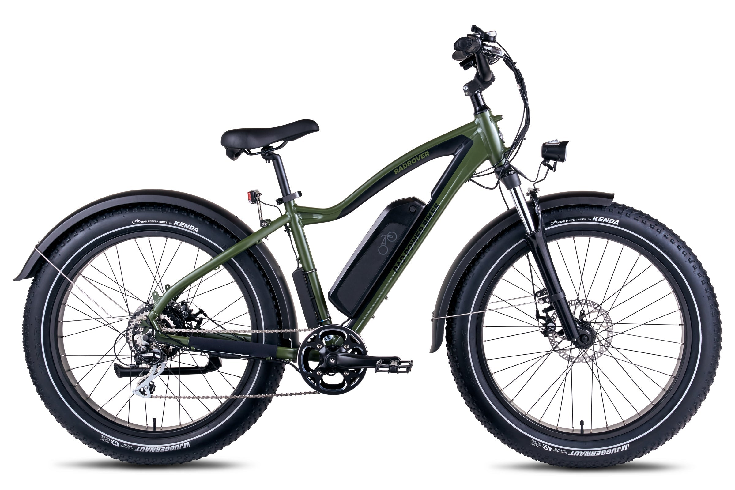 Rad Power Bikes RadRover Electric Fat Bike Version 5 in Forest Green (Limited Edition)