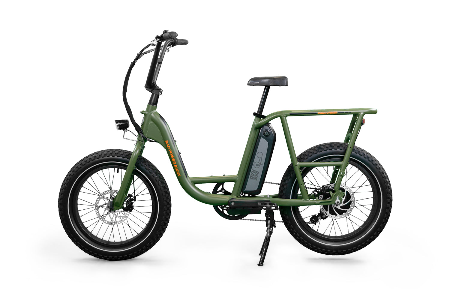 Green Handlebar Mount Scooter and Bicycle Bell