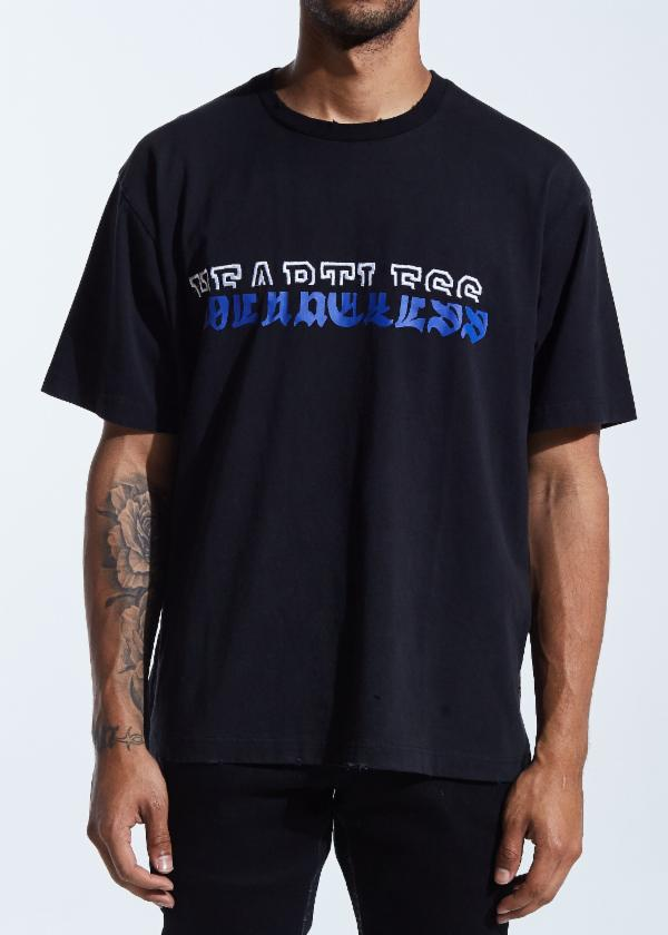Hart Split Tee (Black)