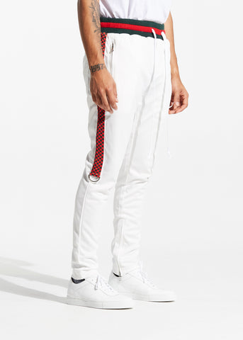Richie Track Pants (White)