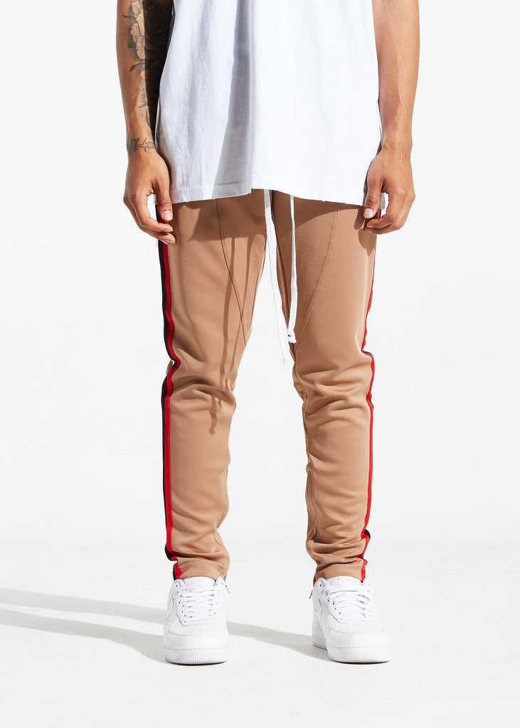 Jenner Track Pants (Khaki/Chicago)