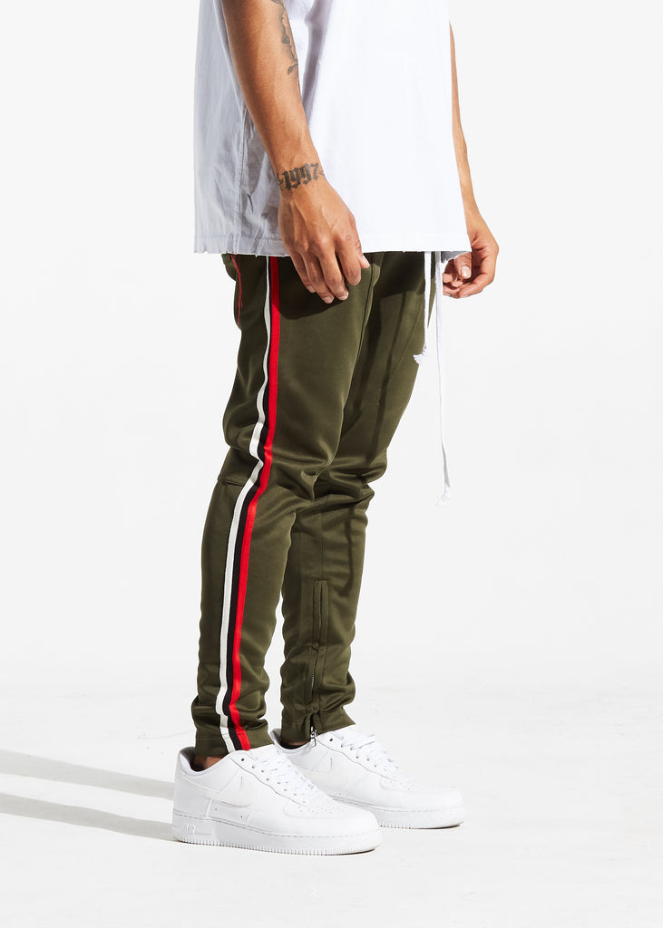 Jenner Track Pants (Olive/Chicago)