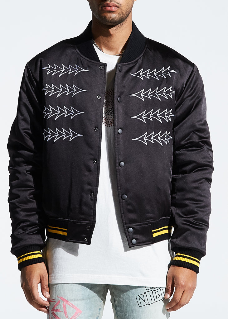 Broadband Bomber Jacket (Black)