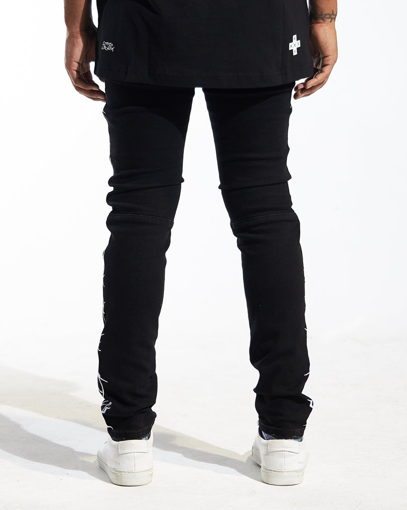 Ward Denim (Black)