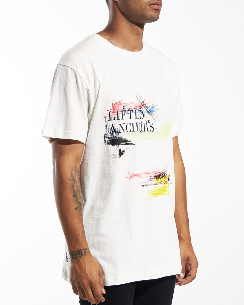 Scratch Tee (White)