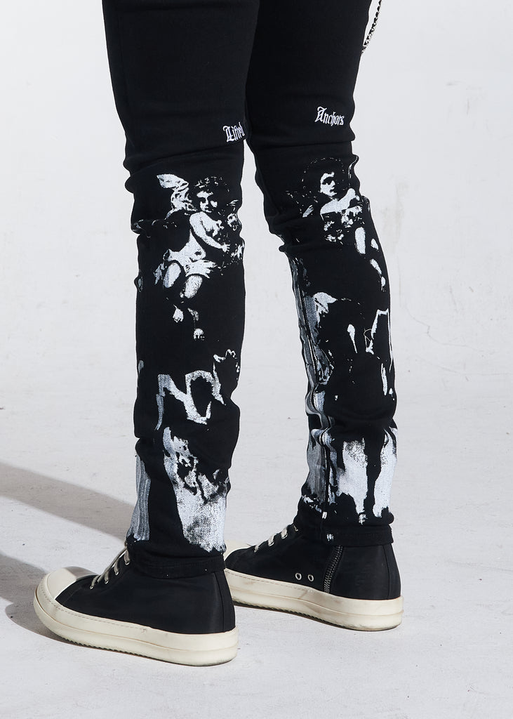Prisoner Denim (Black)