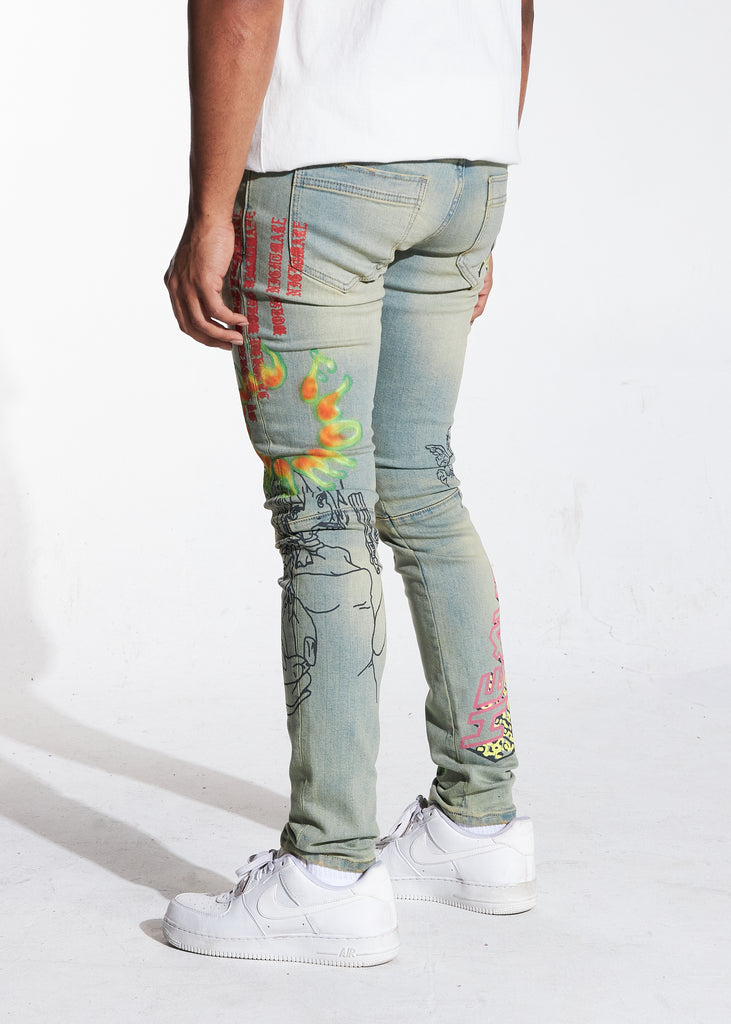 Carnival Denim (Blue)