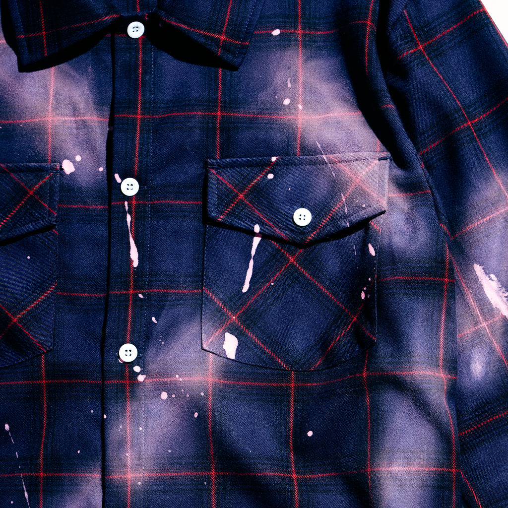 Demille Flannel (Purple)