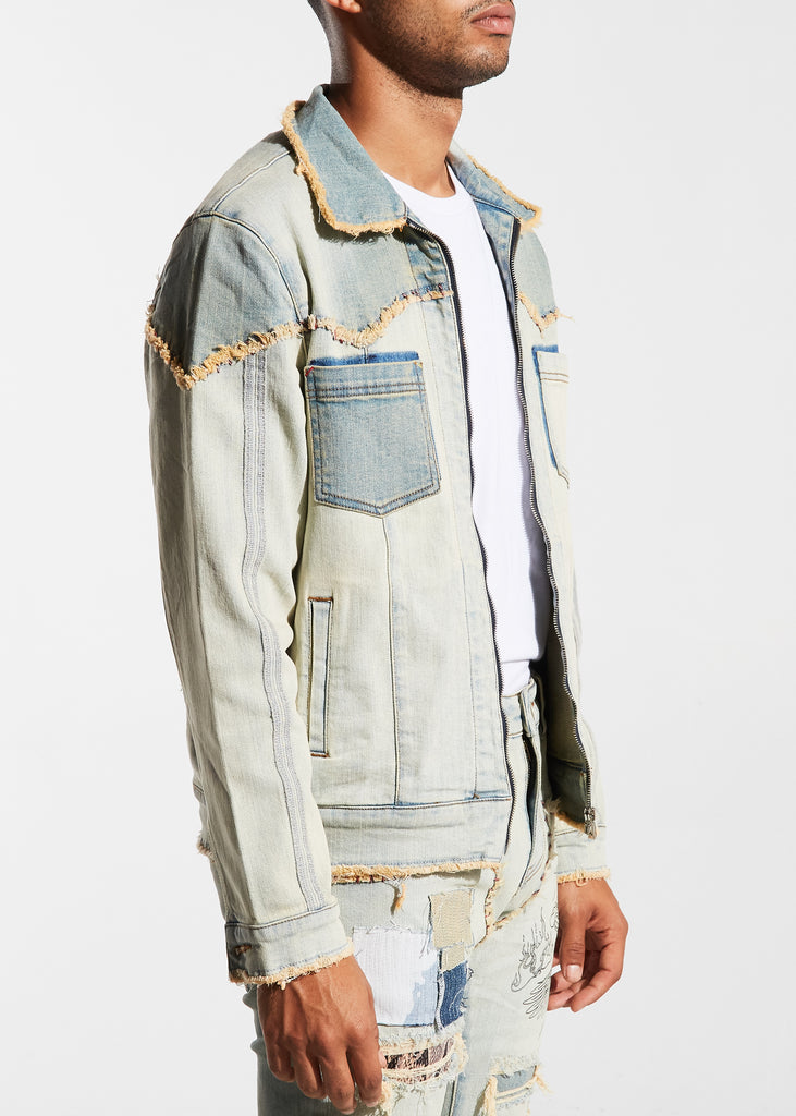 Carraba Trucker Jacket (Blue)