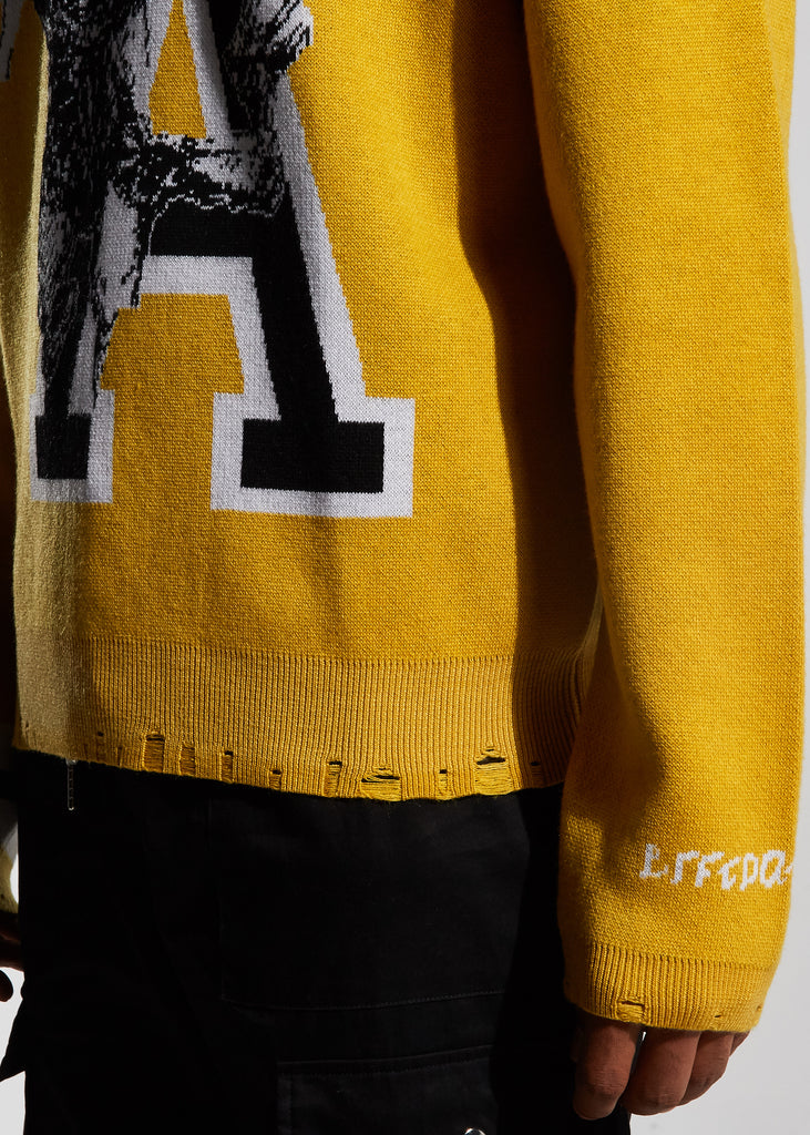 Cornell Knit Sweater (Yellow)