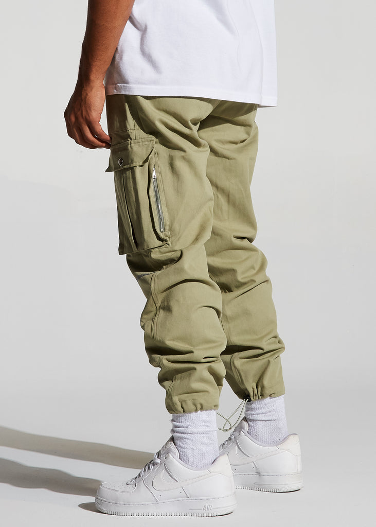 Yorke Cargo Pants (Olive)
