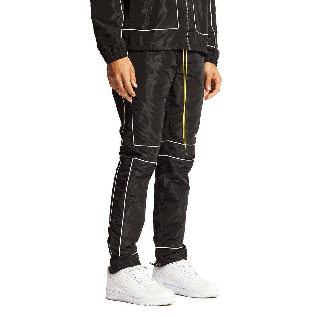 Vector Windbreaker Pants (Black)