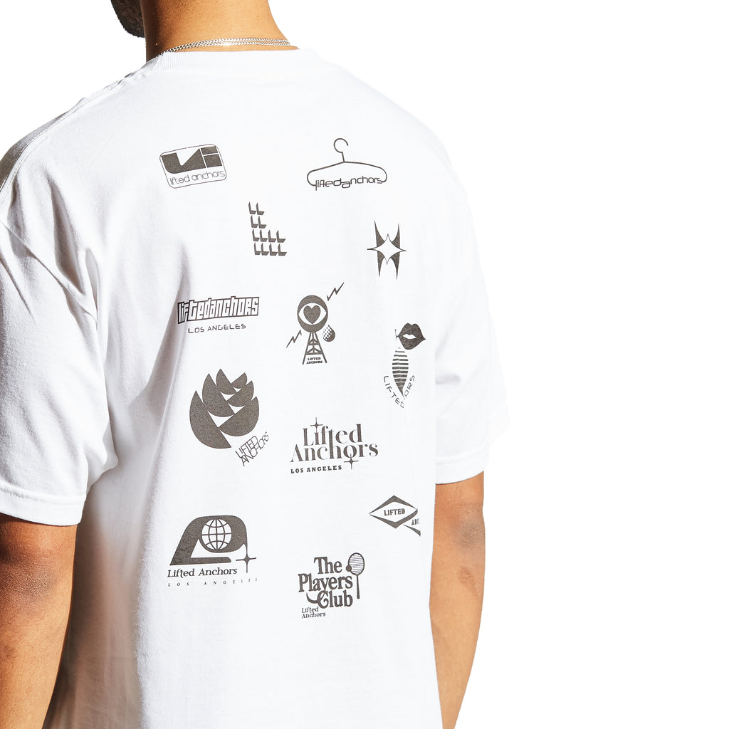 Network Graphic Tee (White)