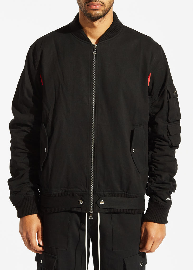 Bellamy Bomber Jacket (Black)