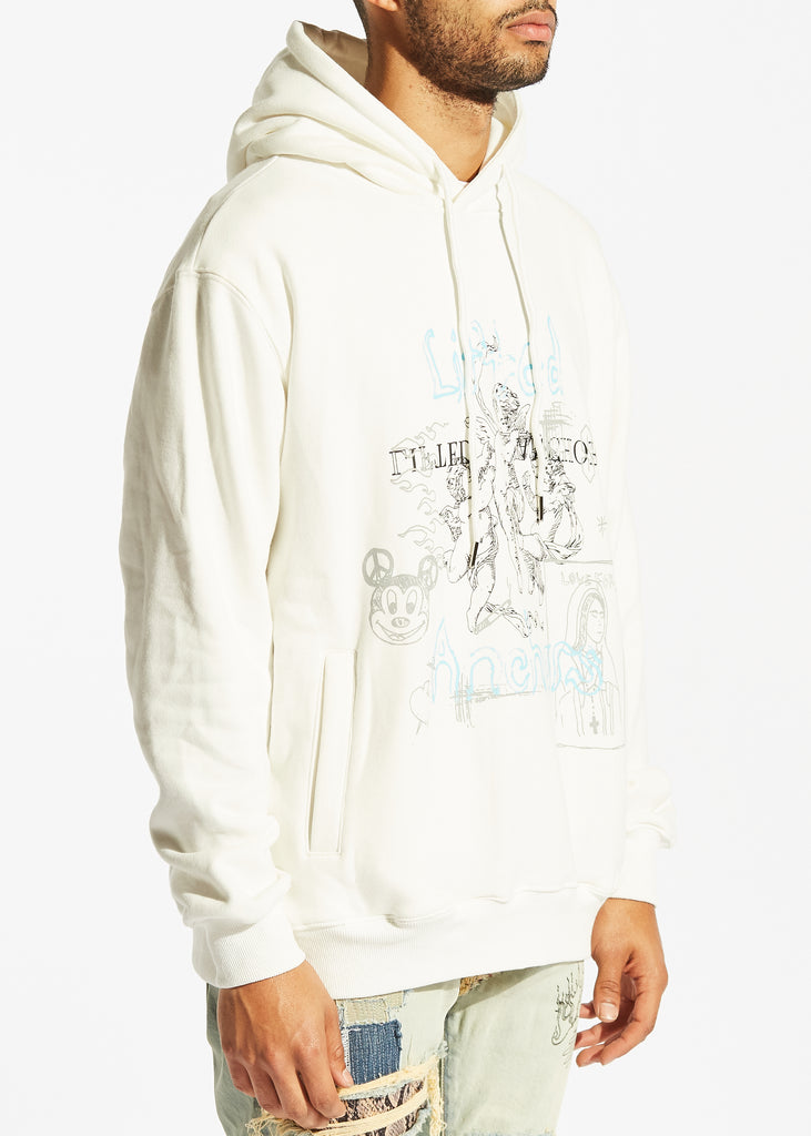Sketch Book Hoodie (White)