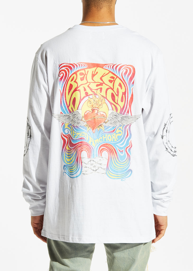 Better Days Long Sleeve (White)