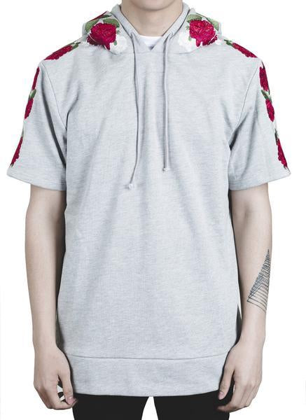 NAPIER HOODED TEE (GRAY)
