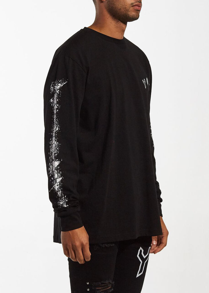 Flyer Long Sleeve Tee (Black)