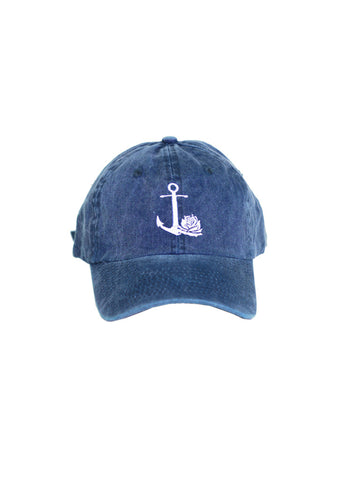 Rose Ball Cap (Blue)