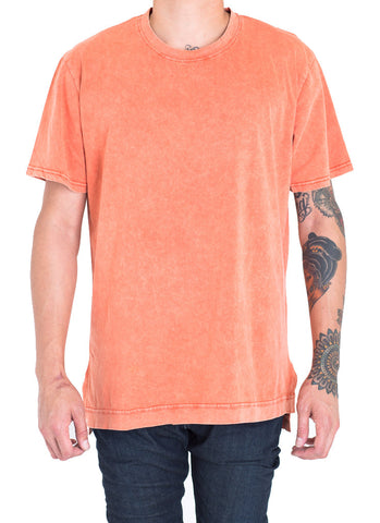Davis Power Wash Tee (Burnt Orange)
