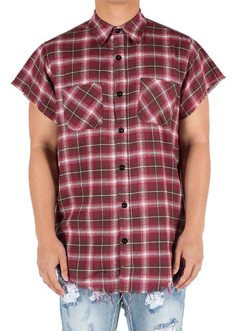 Billups Button Up (Red)