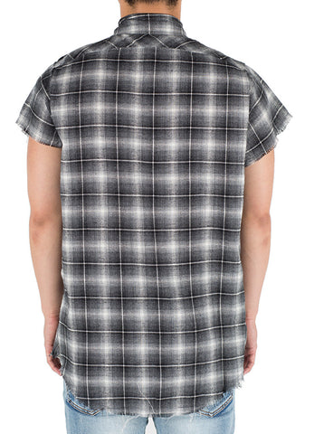 Billups Button Up (Grey)