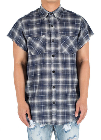 Billups Button Up (Blue)