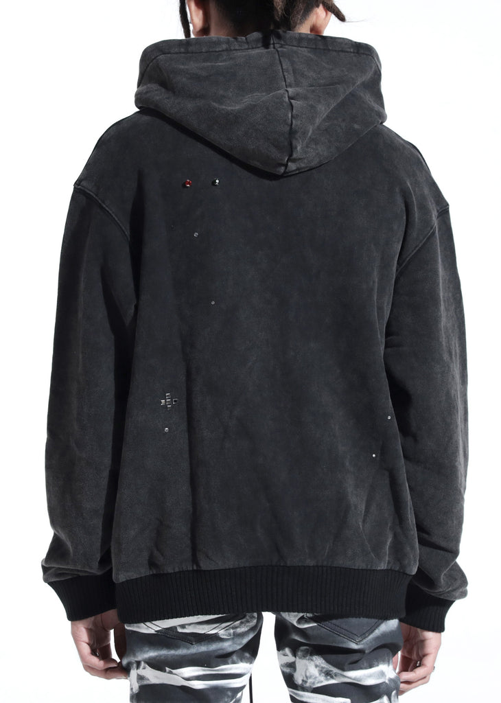 Kingdom Hoodie (Washed Black)