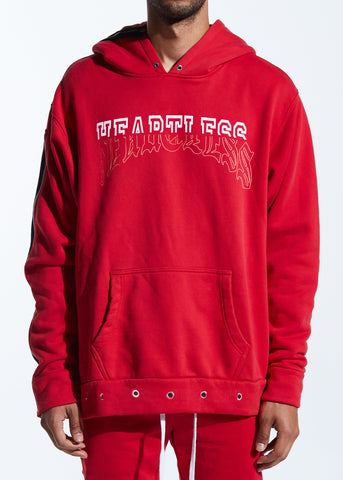 Young Split Hoodie (Red)