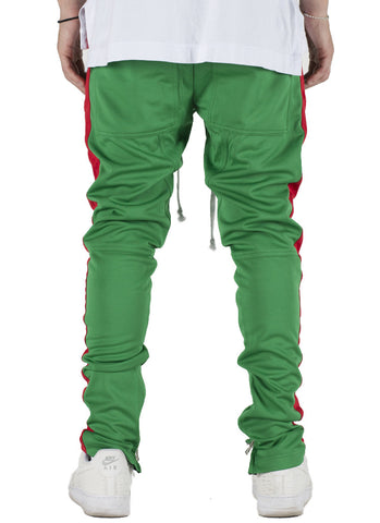 Jenner Track Pants (Green/Red)