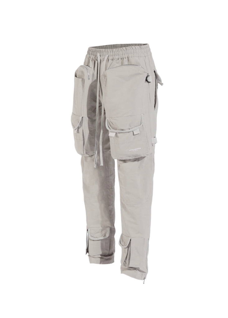 Bomber Cargo Pants (Neutral Grey)