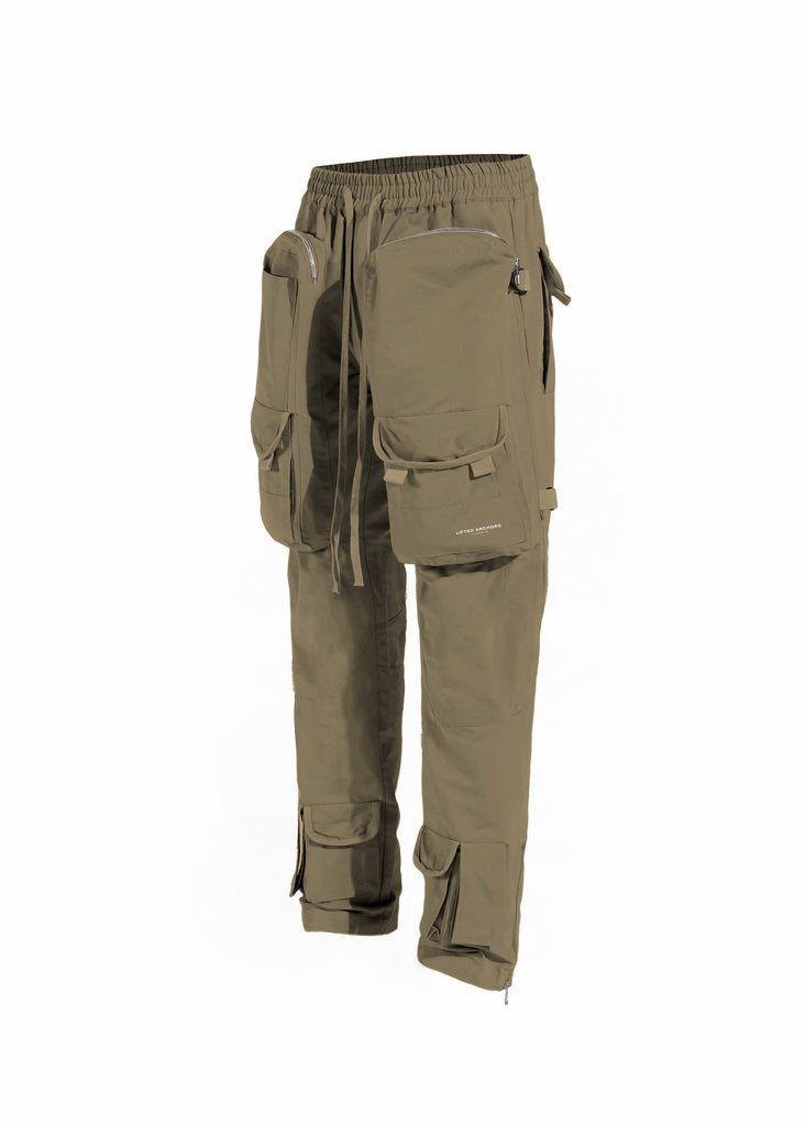 Bomber Cargo Pants (Wood Olive)