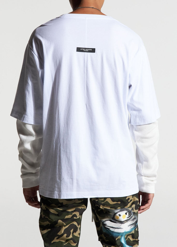 Imperial Thermal Tee (White/Grey)