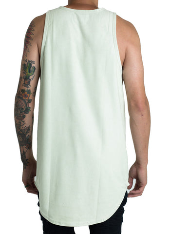 Jackson Suede Tank Top (Mint)
