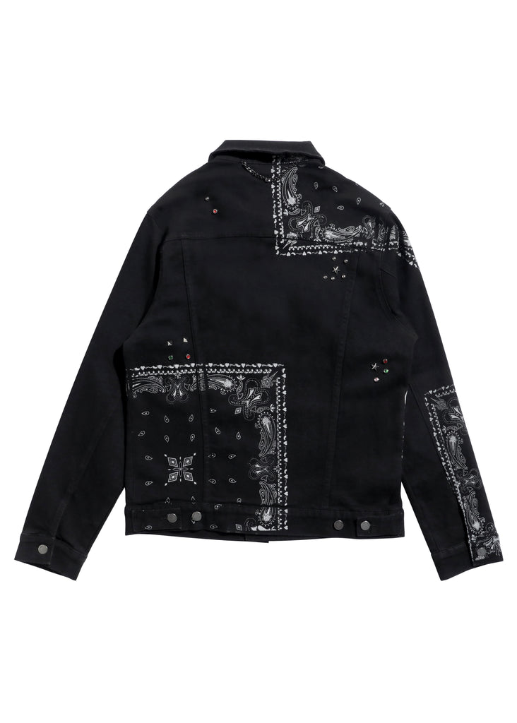 Kingdom Denim Jacket (Black)