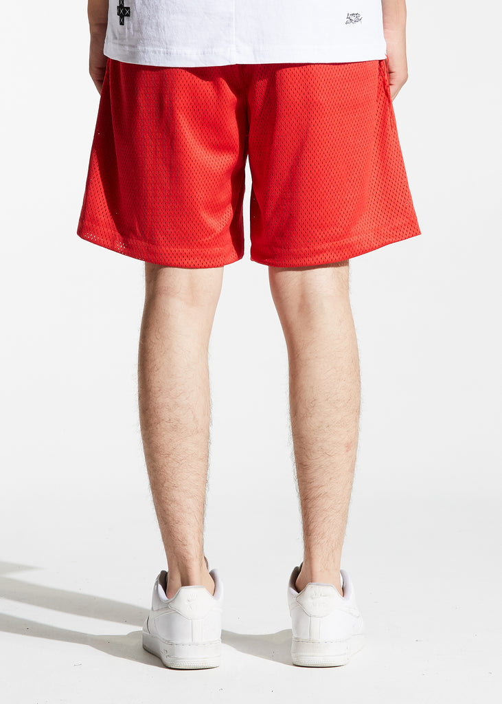 SLC Basketball Shorts (Red)