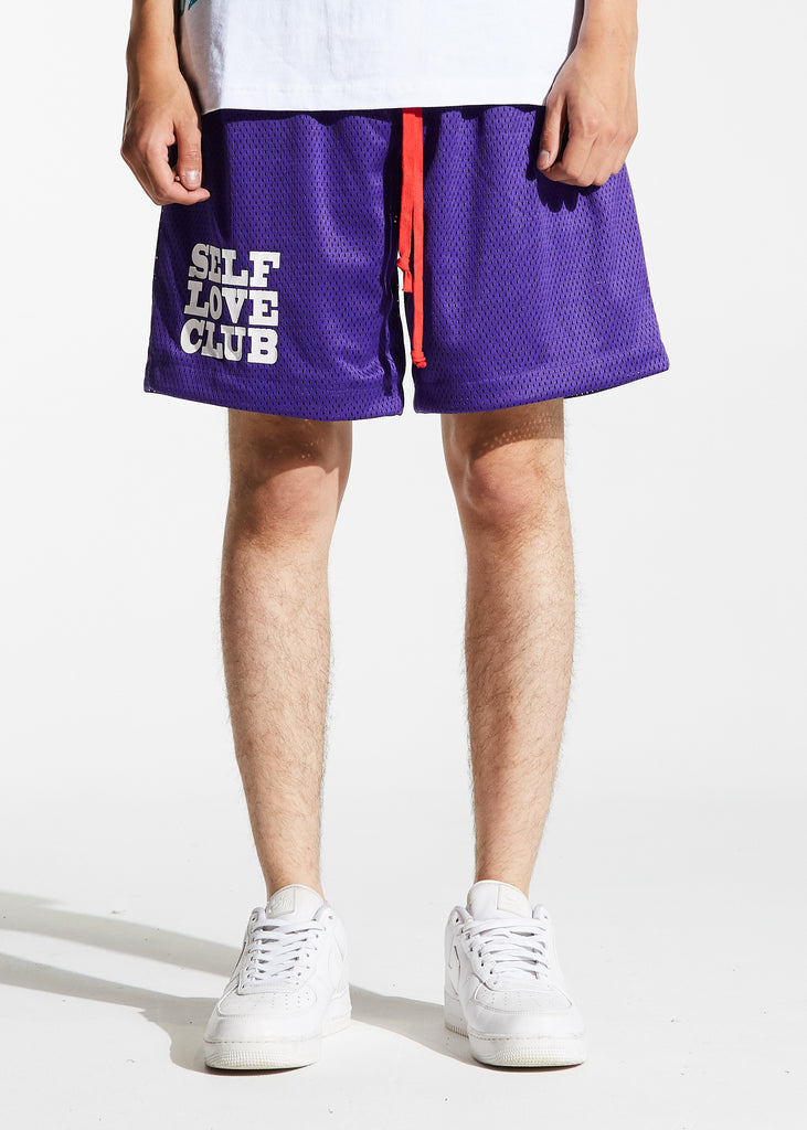 SLC Basketball Shorts (Purple)