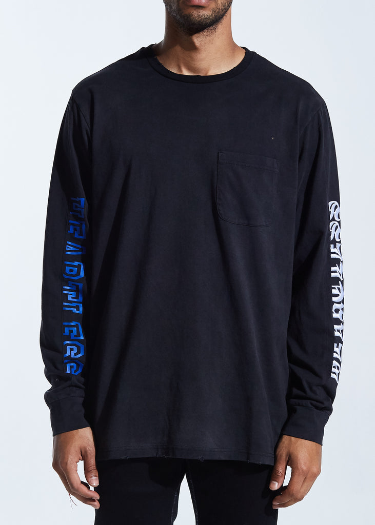 Carter Long Sleeve Tee (Black)