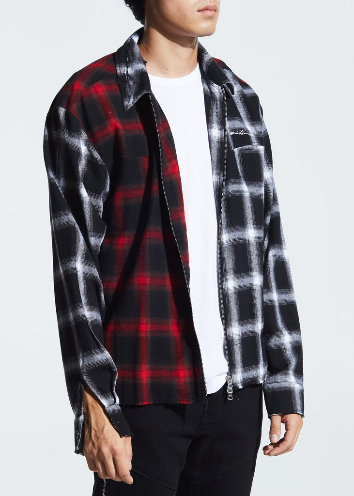 Chapman Flannel (Black/Red)
