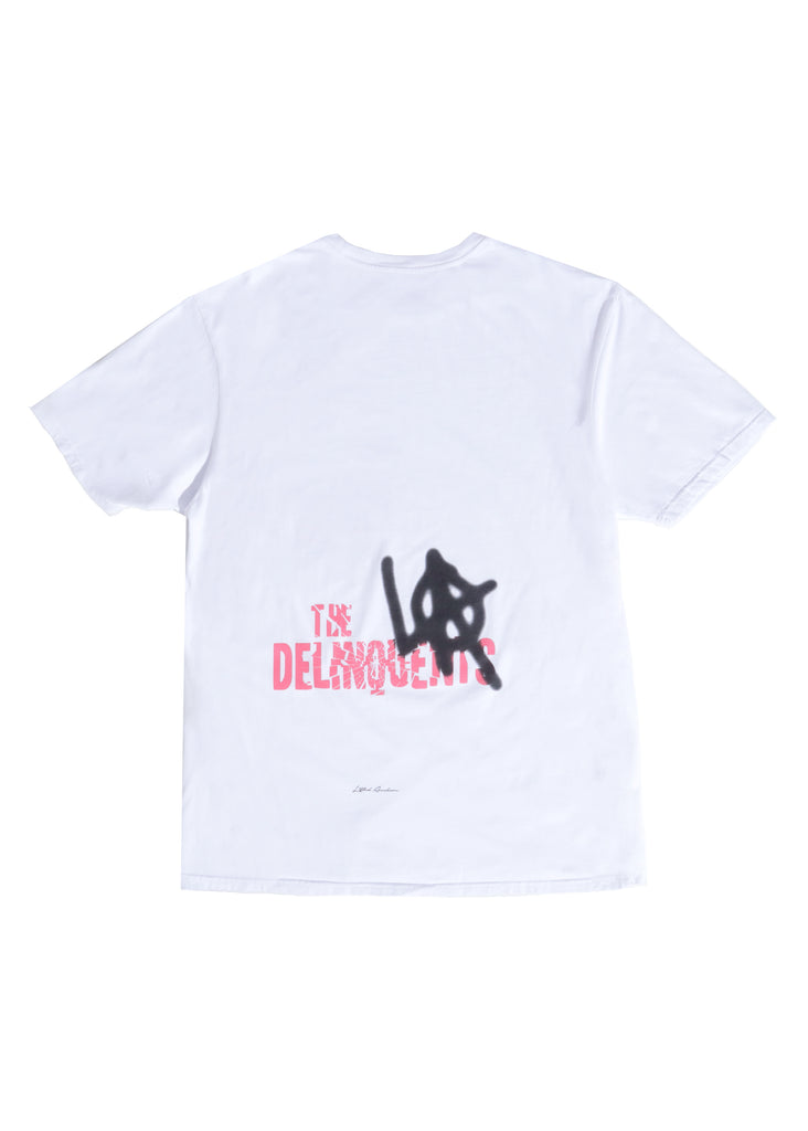 Delinquents Tee (White)