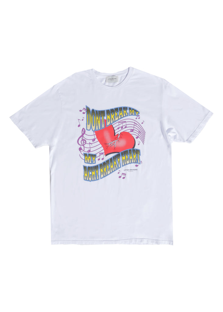 Heart Breaker Tee (White)