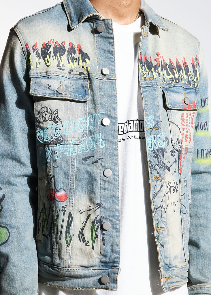 Carnival Denim Jacket (Blue)