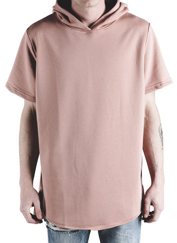 Nash Hooded Tee (Salmon)