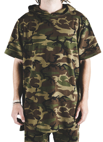 Nash Hooded Tee (Camo)