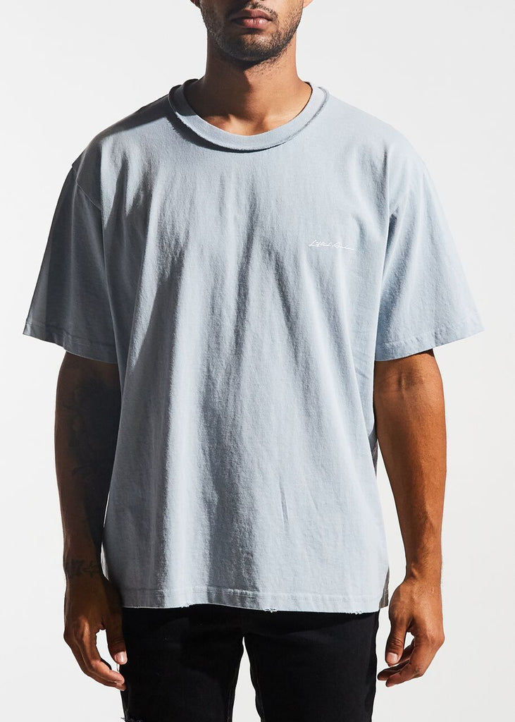 Logo Tee (Dusty Blue)