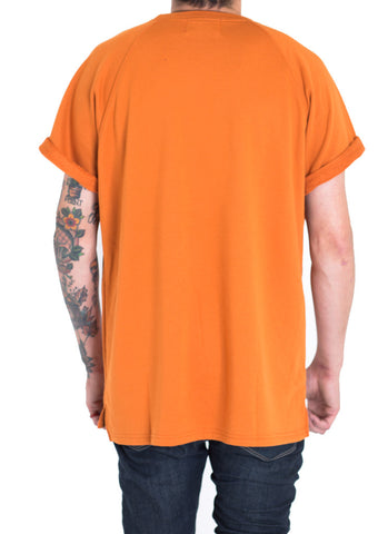 Payton French Terry Box Tee (Orange)