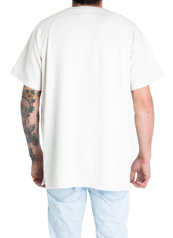 Payton French Terry Box Tee (Bone White)
