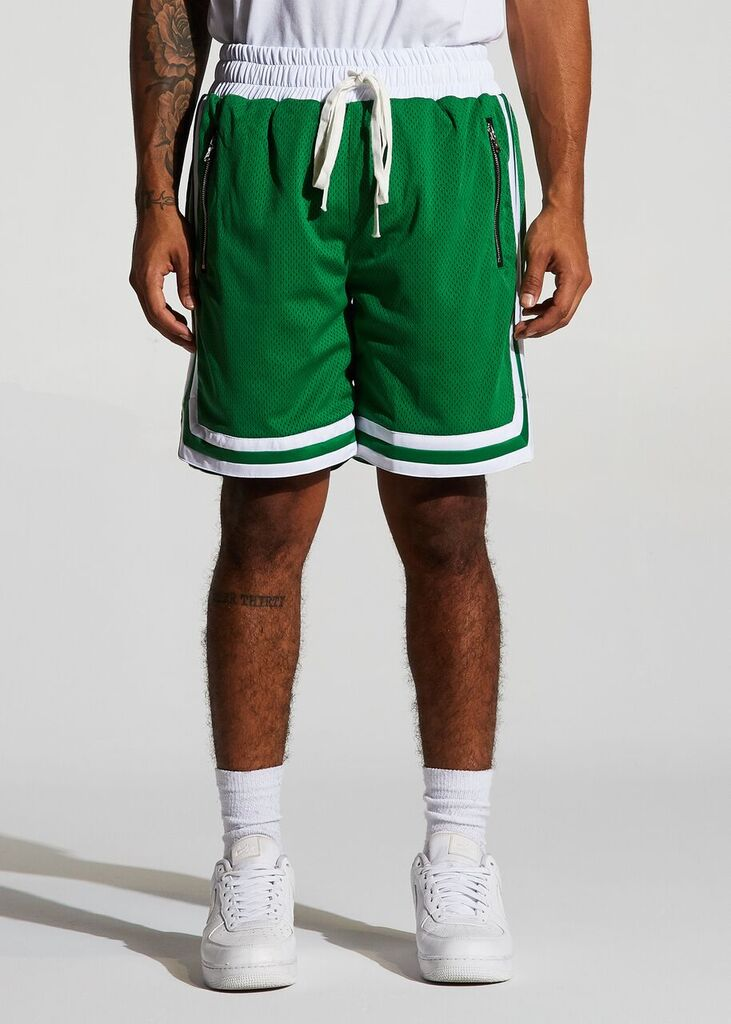 Jordan 2.0 Basketball Shorts - Celtics Home (Green)