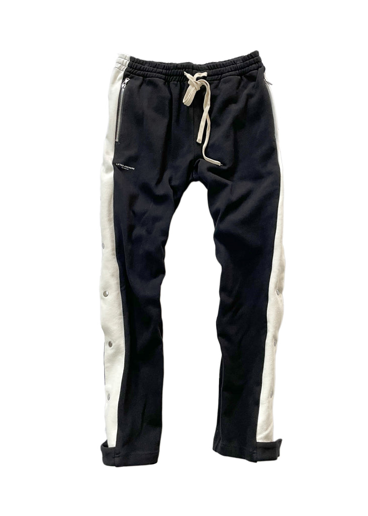 Alexander Snap Track Pants (Black/White)