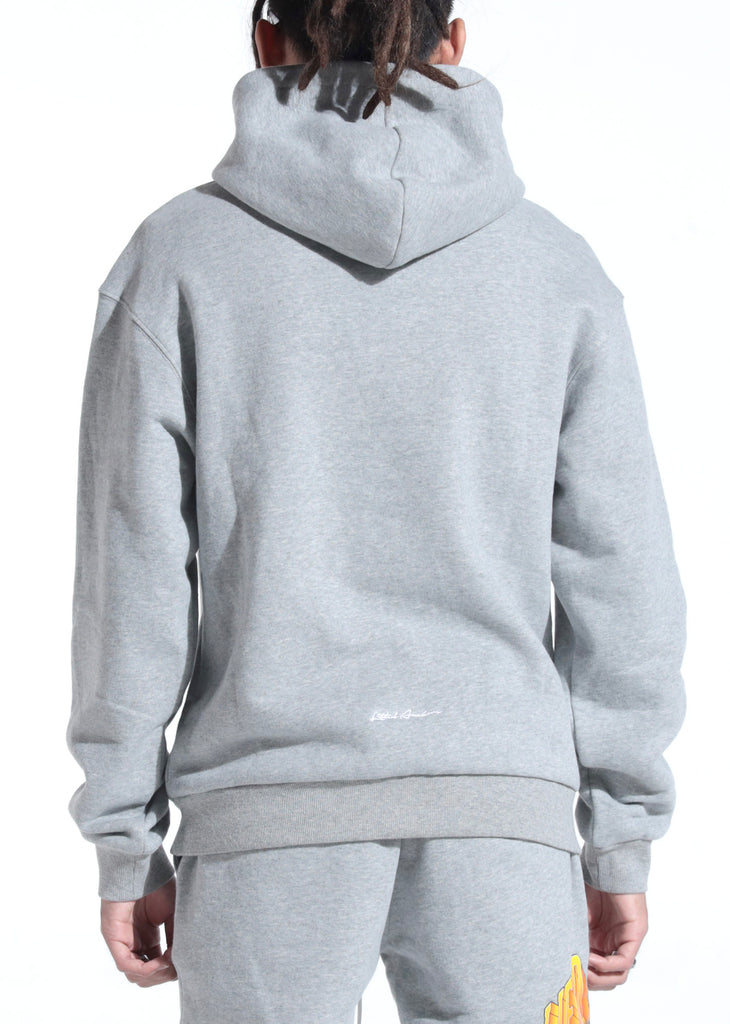 Lithuania Warm Up Hoodie (Home Grey)